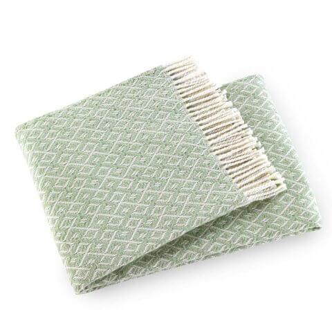 Agave Washable Cotton Blend Throw | ANICHINI Hospitality