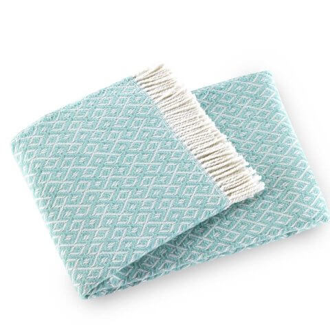 Agave Washable Cotton Blend Throw | ANICHINI Hospitality