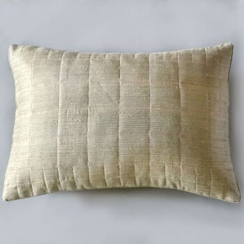 Anichini Kanishka Hand Loomed Dupioni Silk Quilts & Pillows