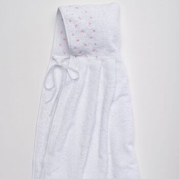 Anichini Gioia Pink Hooded Baby Towels