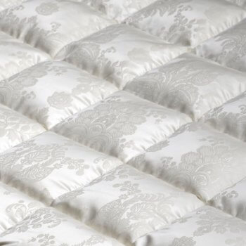 Anichini Cannes French Damask Luxury Silk Covered Duvets Comforters
