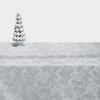 Anichini Flora Luxury Jacquard Table Linens