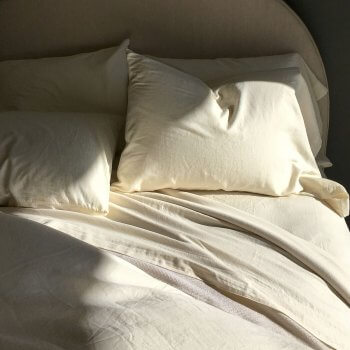 MICHELLE CASHMERE SHEETS IN IVORY