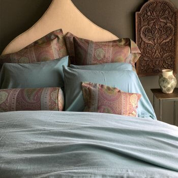 MICHELLE CASHMERE SHEETS IN SLATE