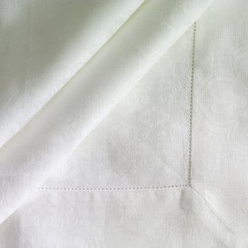 Anichini Palanga Damask Linen Table Linens
