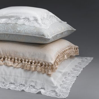Anichini Vivica Italian Sateen Lace Sheeting