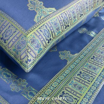 PERSIA 2.0 SHEETS IN MARINE BLUE