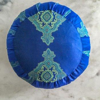 Anichini Persia 2.0 Traditional Zafu Meditation Pillows In Jade Green