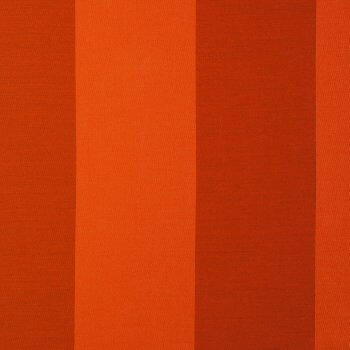 Anichini Persia Wide Stripe Jacquard Fabric By The Yard In Orange