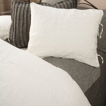 VITA WASHED LINEN SHEETS
