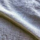 Abril Sheer Pinstripe Linen Fabric In Light Grey