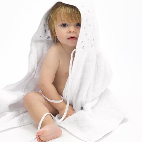 Anichini Gioia Hooded Baby Towels