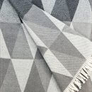 Anichini Pisa Washable Cotton Blend Throws in Greyish