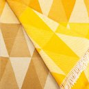 Anichini Pisa Washable Cotton Blend Throws in Yellowish