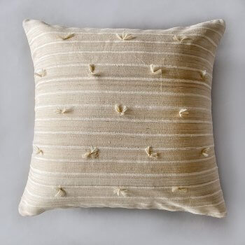 Anichini Sijua Hand Loomed Natural Silk Quilts & Pillows