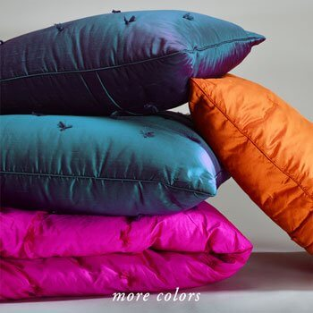 SITARA BRIGHTS SILK QUILTS & PILLOWS