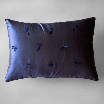 Anichini Sitara Brights Dupioni Silk Pillows In Dusk