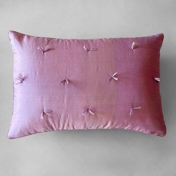 Anichini Sitara Brights Dupioni Silk Pillows In Lavender