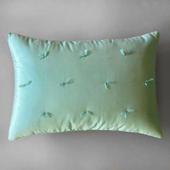 Anichini Sitara Brights Dupioni Silk Pillows In Turquoise