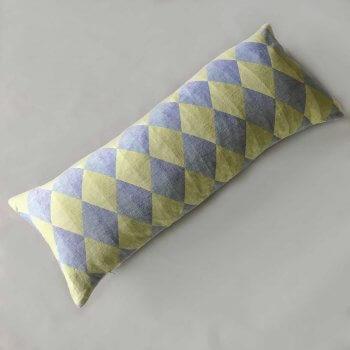 Anichini Puzzle Harlequin Diamond Line Duvet Covers & Shams