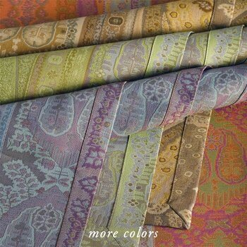 TAJ THREAD-DYED JACQUARD TABLE LINENS