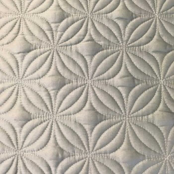 Anichini Hospitality Floral Pattern Quilted Bedding   Quilts, Runners, And Pillows For The Top Of Bed