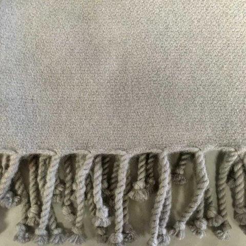 Anichini Amdo Crepe Weave Handwoven Cashmere Throw