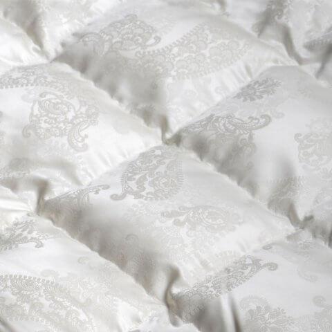 Anichini Dorit Paisley Luxury Silk Down Duvet Comforter