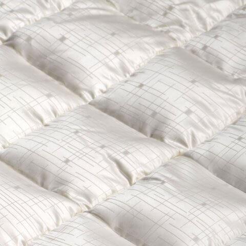 Anichini Jupiter Mid-Century Modern Geometric Silk Down Duvet Comforter