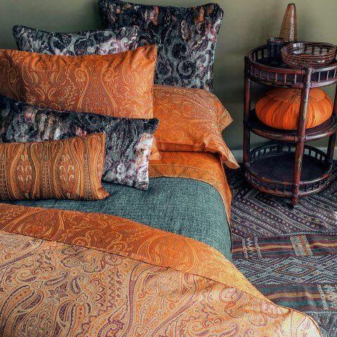 Anichini Kashmir Paisley Jacquard Bedding