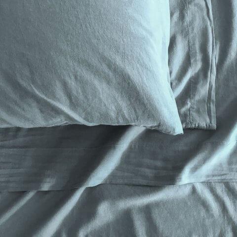 Anichini Michelle Cashmere Sheets In Slate