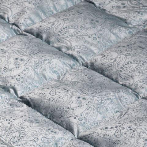 Anichini Orient Medallion Luxury Silk Covered Down Duvets Comforters