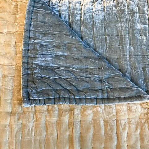 Anichini Handmade Pho Velvet Quilt