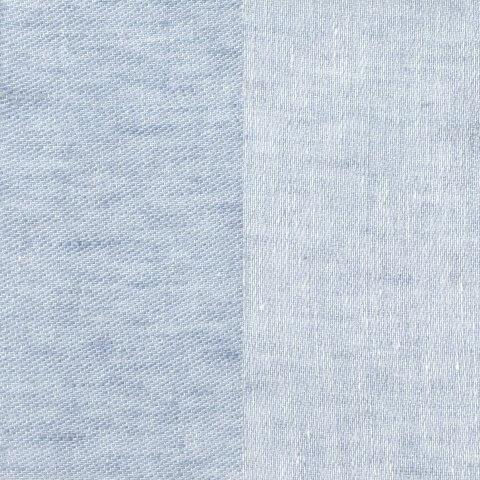 Anichini Linen Tweed Shower Curtains