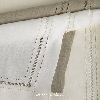 GRAZUOLE LINEN TABLE LINENS
