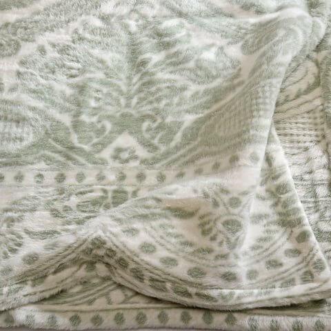 Anichini Hospitality Parchal Washable Fleece Blanket