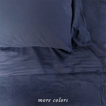 50% OFF  MICHELLE CASHMERE SHEETS IN DEEP MARINE BLUE