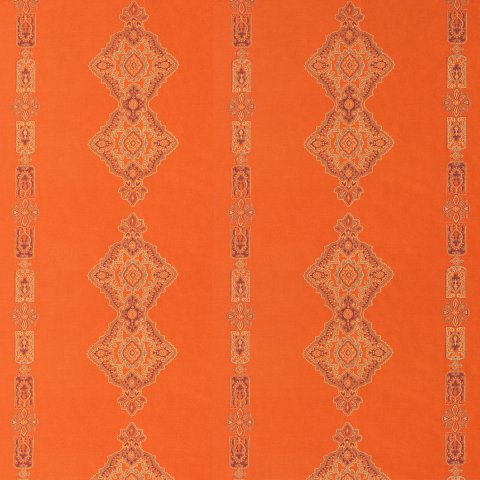 Anichini Persia Jacquard Medallion Fabric By The Yard