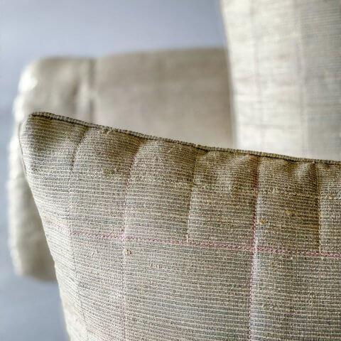 Anichini Kanishka Hand Loomed Dupioni Silk Quilts & Pillows