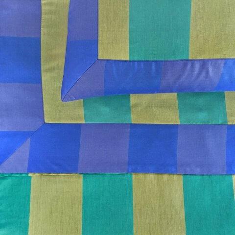 Anichini Scheherazade Sheets In Turquoise / Citrine