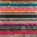 Anichini Multi Stripe Upcycled Handwoven Cashmere Throw