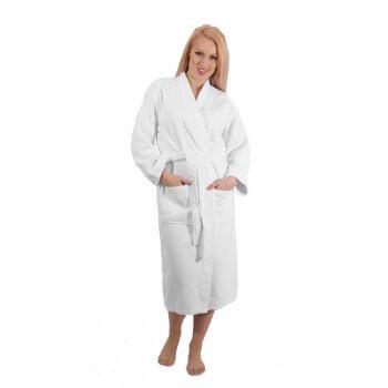 Anichini Piquet Kimono Robe