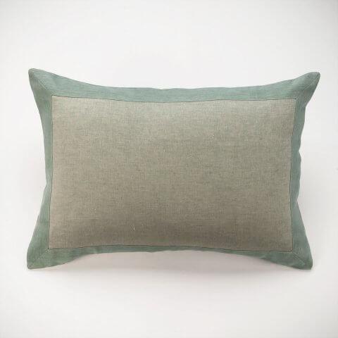 Anichini Janus Textured Linen Pillows