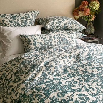 Anichini June Floral Linen Duvet Covers And Shams