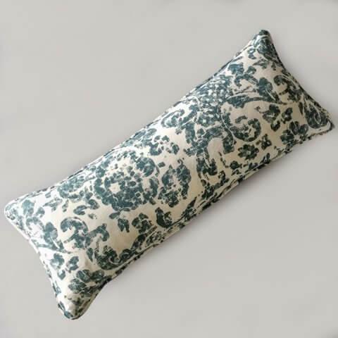 Anichini June Modern Floral Linen Pillows