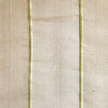 Anichini Sindri Sheer Hand Loomed Natural Silk