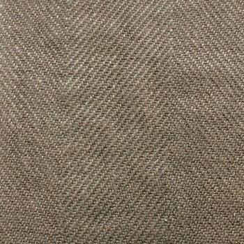 Anichini Yutes Collection Quorum Soft Thick Herringbone Upholstery Linen Fabric