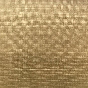 Anichini Yutes Collection High Performance Linen Upholstery Fabric In 11 Mustard Brown