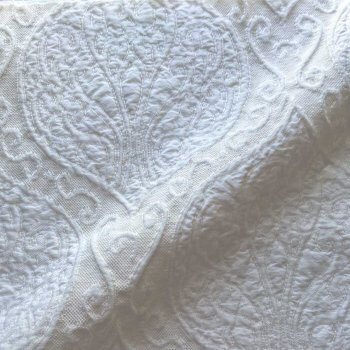 Anichini Yutes Collection Verona Turkish Matelasse Fabric