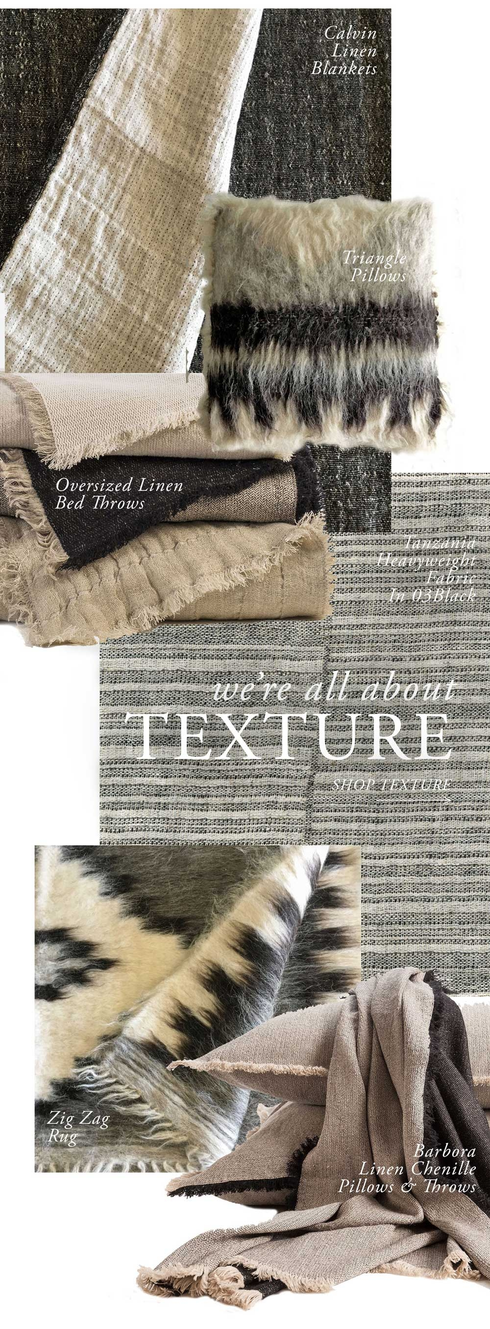 Anichini Fall Style Favorites | Natural Organic Textures